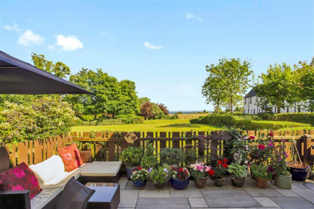 Hewitt Place Aberdour garden - property news Scotland