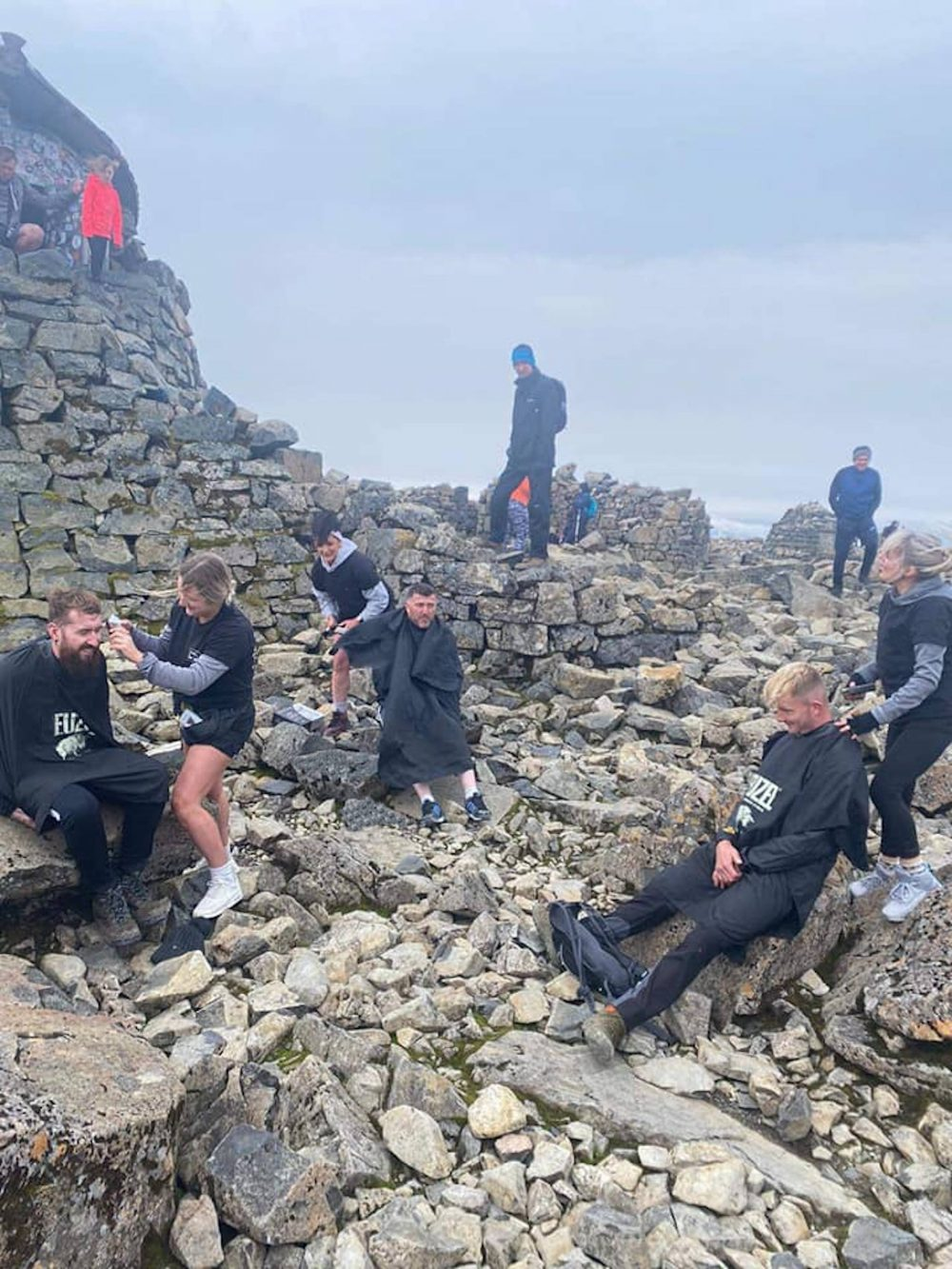 Stag & Buck barbers cutting hair atop Ben Nevis   Scottish News