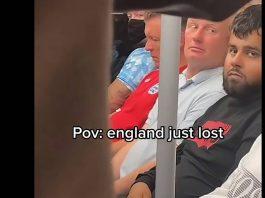 Fans sat in silence after the devastating result - Football News UK