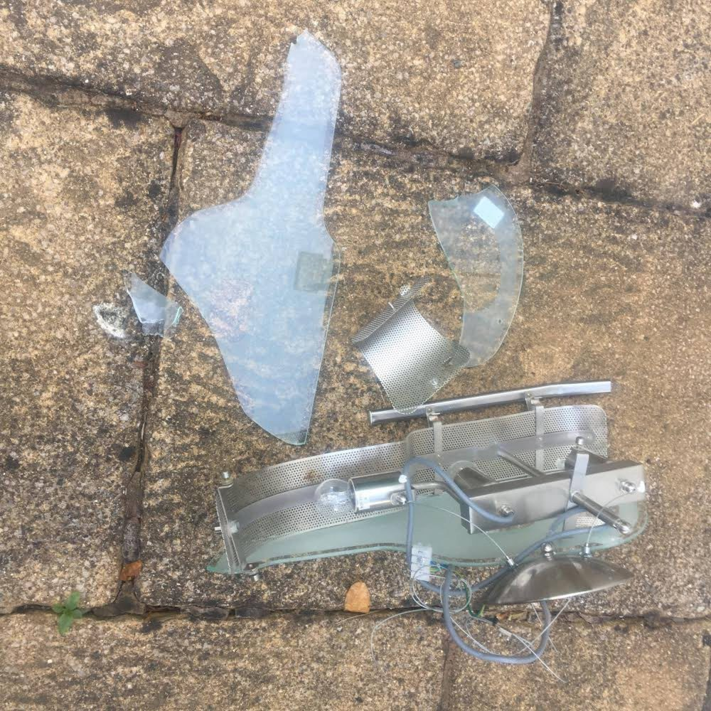 The smashed glass lamp   Consumer News UK