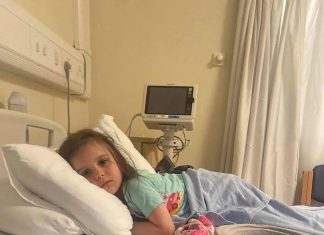 The brave youngster in hospital - Scottish News