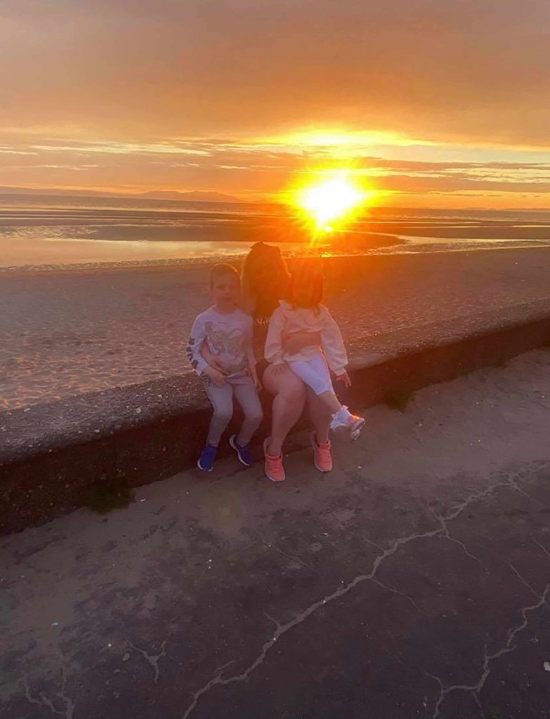 The family on the beach trip - Scottish News