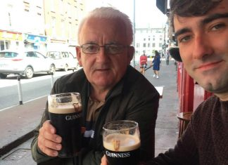 The father and son duo - Viral News UK