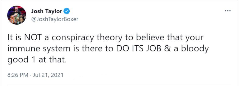 Josh Taylor conspiracy theory - Health News Scotland