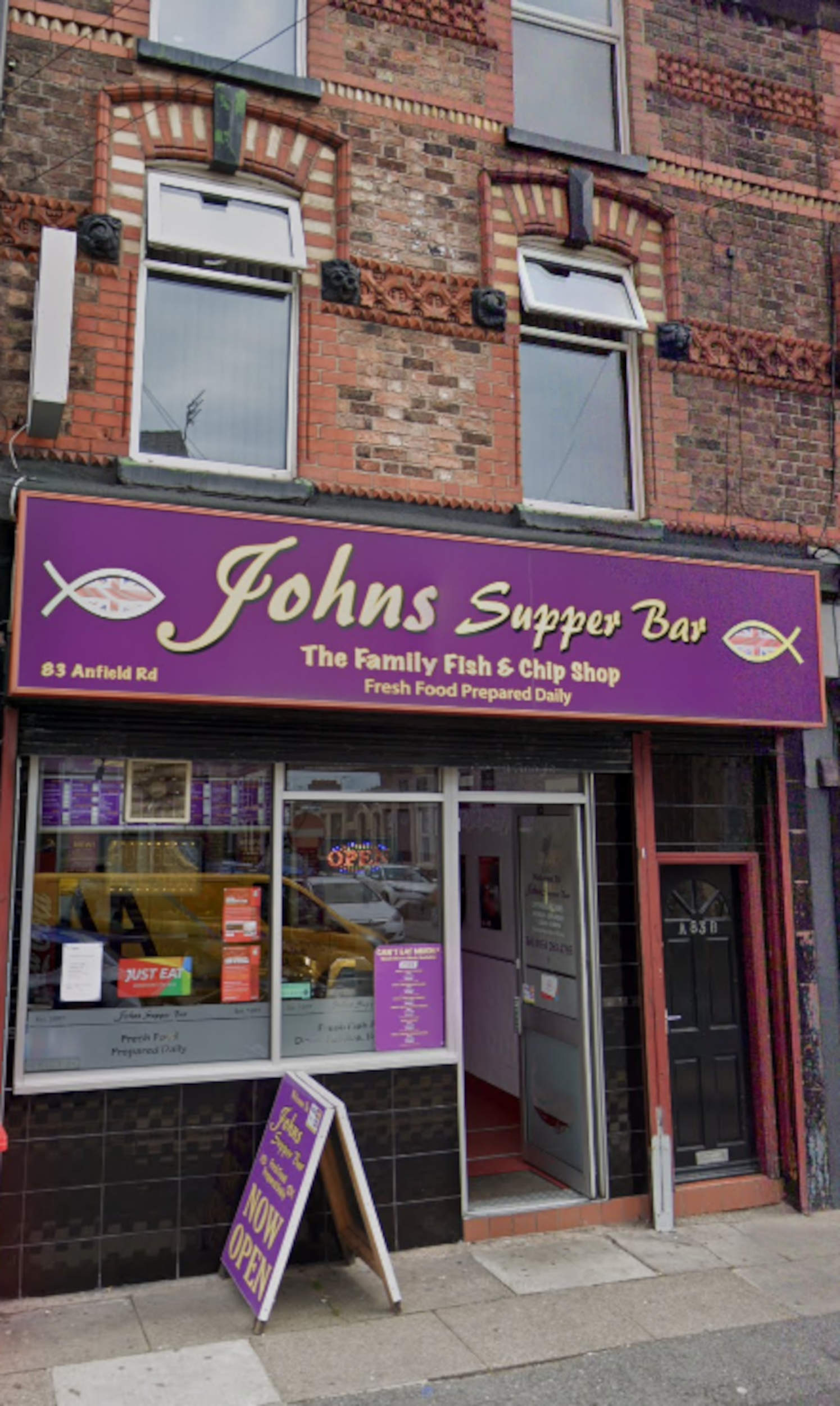 John's Supper Bar Anfield Road- food and drink news UK