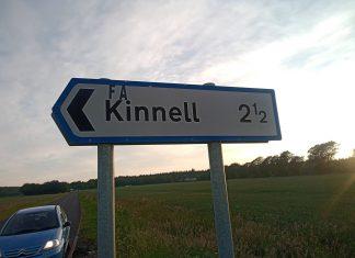 FA-Kinnell Road Sign | Scottish News