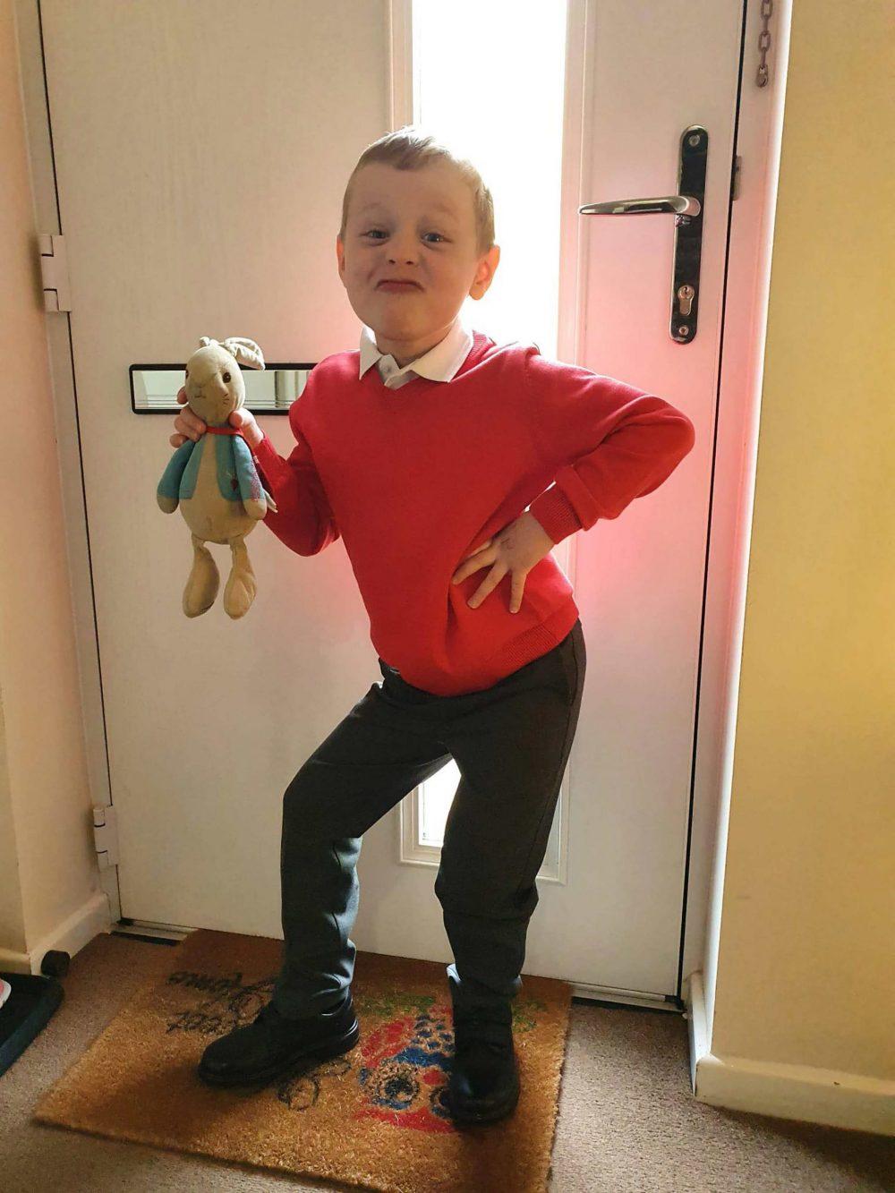 Ethan has had Peter since birth - UK News