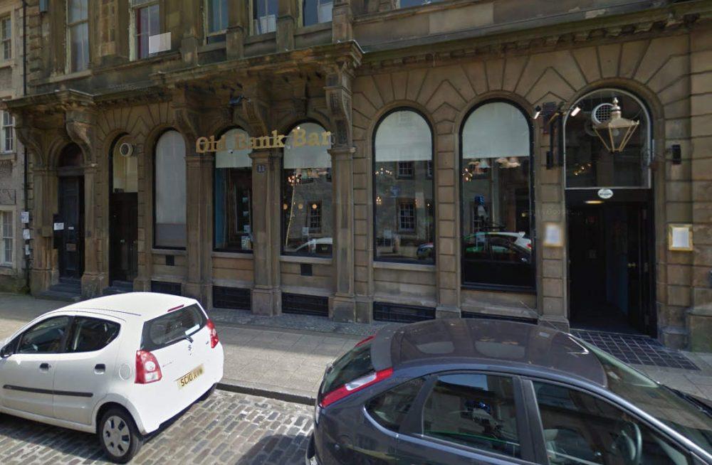 Old Bank Bar Greenock - Scottish News