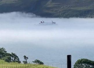 Ferry in mist - Travel News Scotland