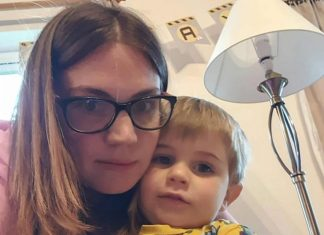 Bex and her now two year old Caelan - Scottish News