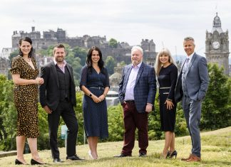 the six directors of chartered accountants Douglas Home & co