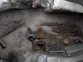 viking skeleton - scottish - news