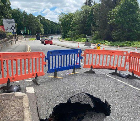 The 10ft deep hole - Scottish News