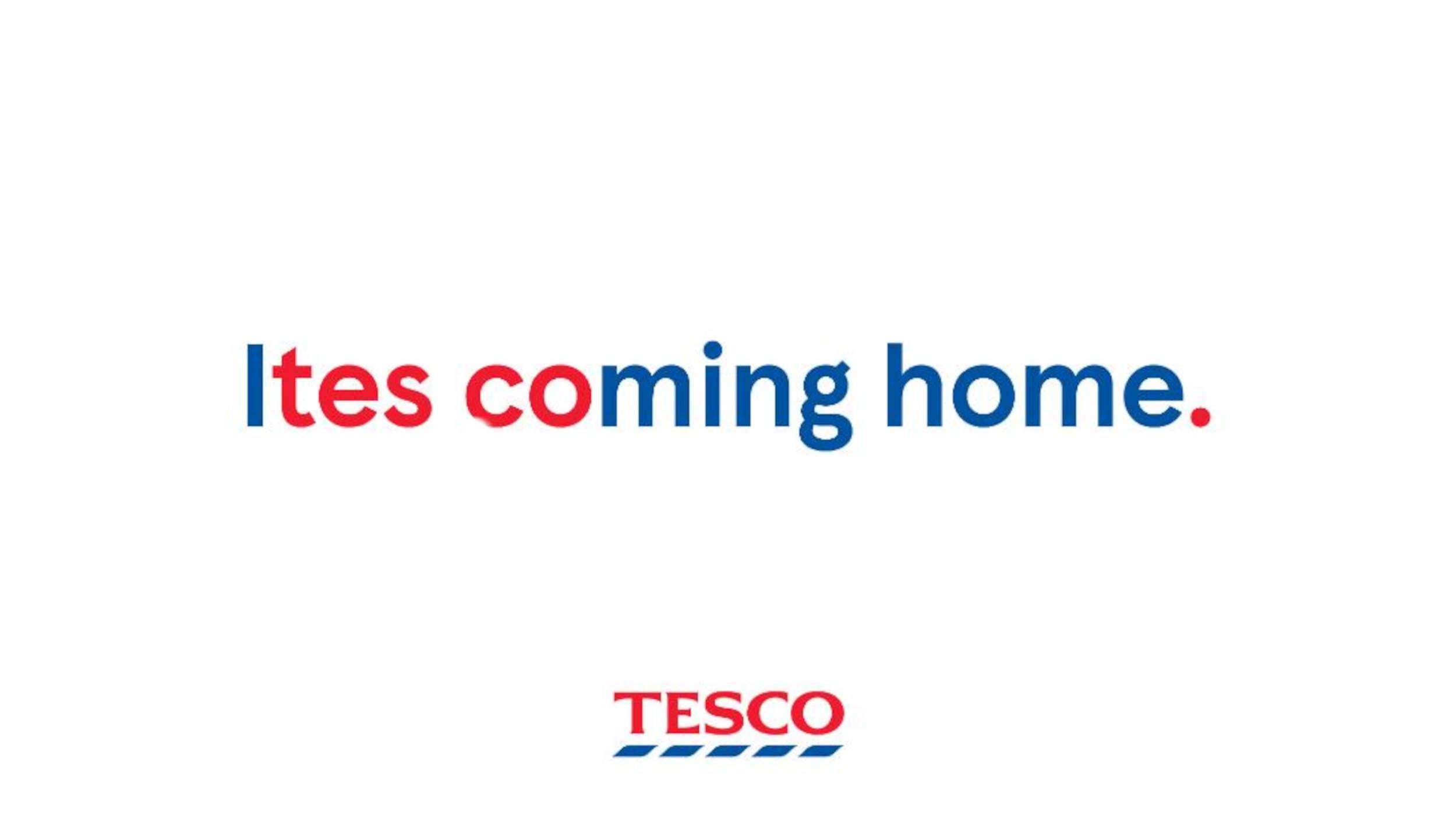 Ites coming home Tesco - consumer news UK