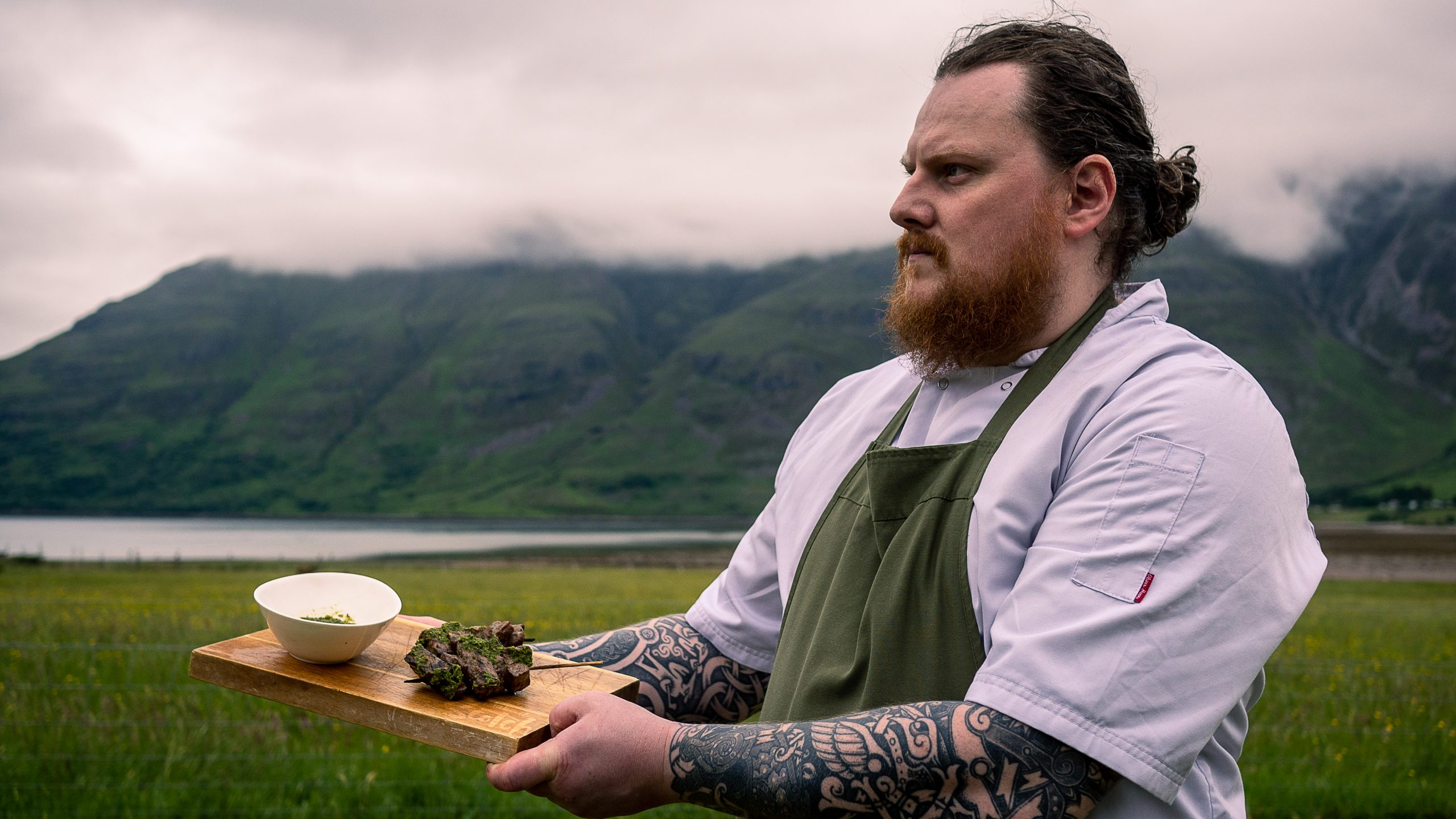 Torridon chef  - Scottish News