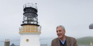 author and lighthouse - scottish news