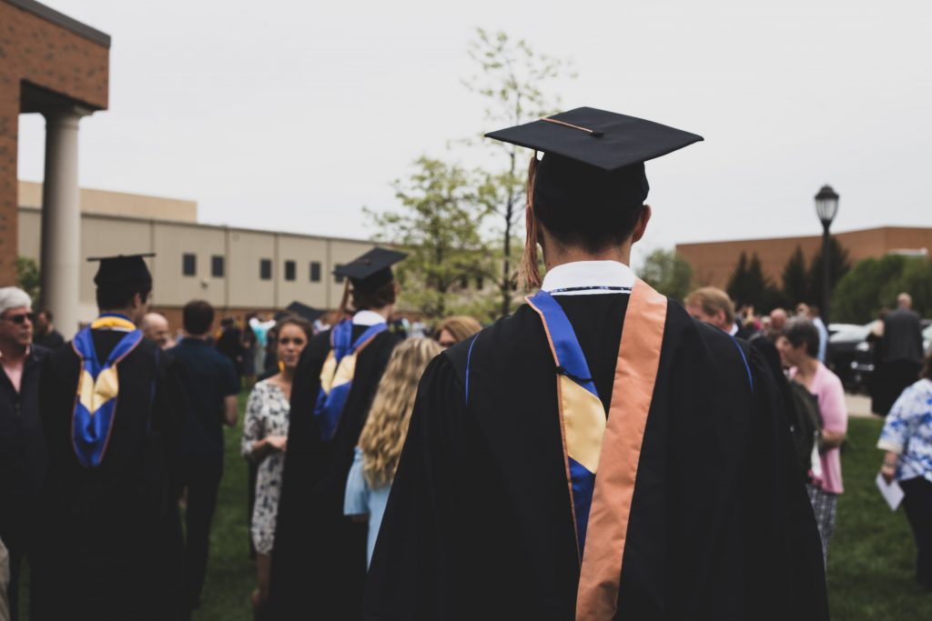 person at graduation - scottish News