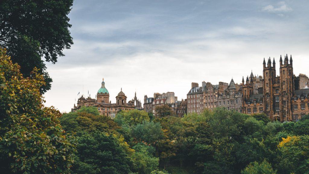 Edinburgh landscape shot - Scottish News
