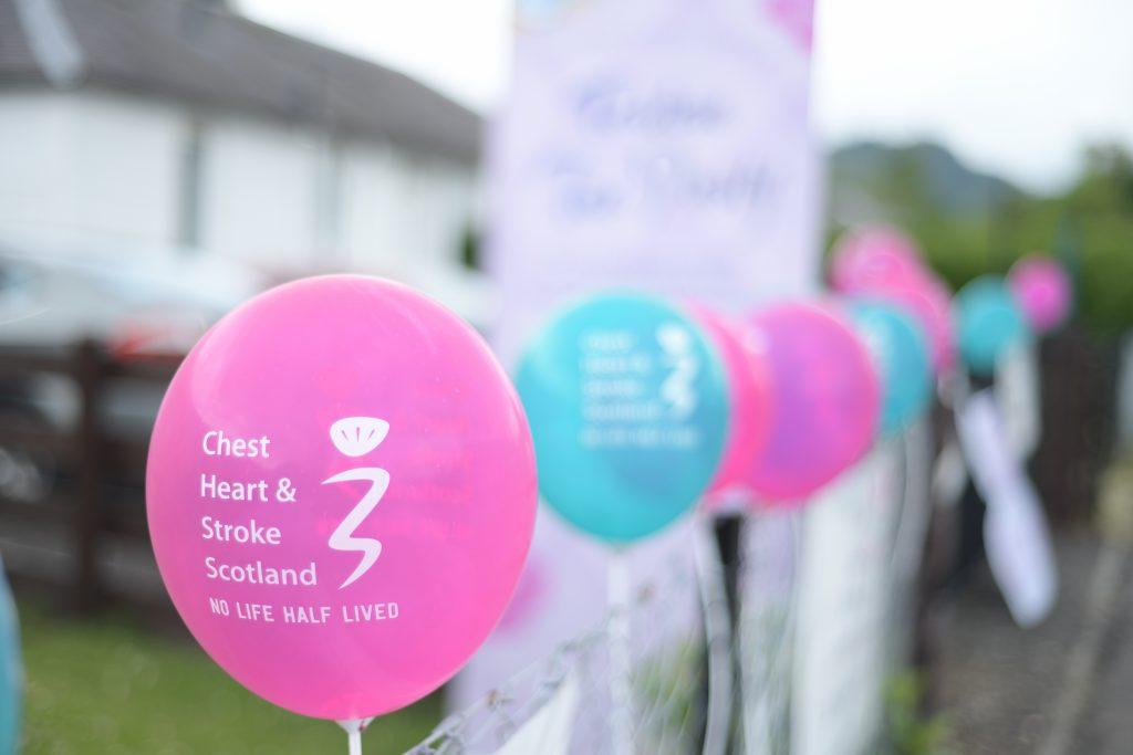 row of balloons - Scottish News