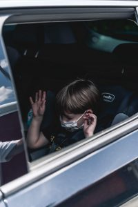 Parents have resorted to making full use of their air conditioned cars to make sure their children get a good night's sleep - UK News