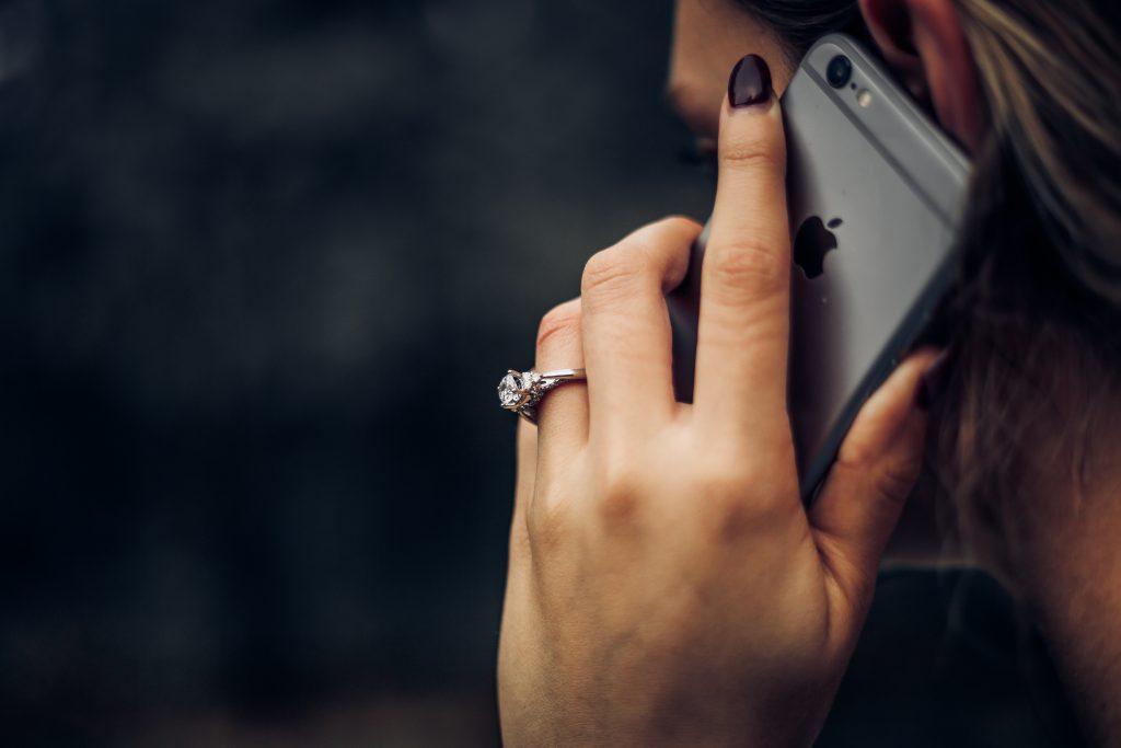 girl on phone - scottish news
