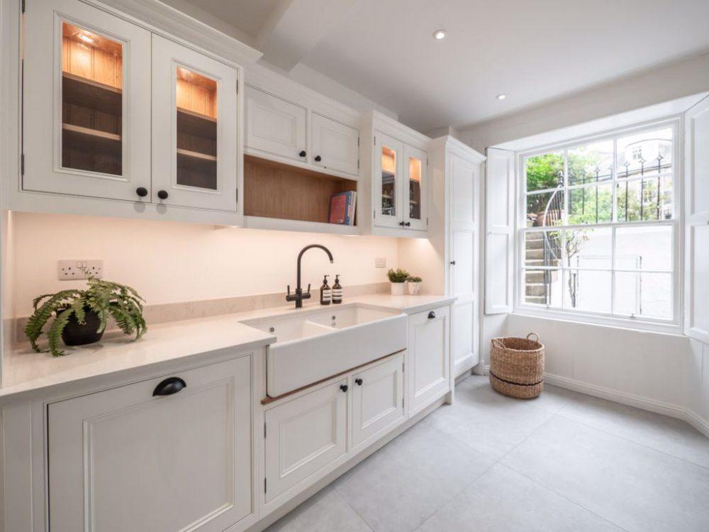 The roomy kitchen - Property News Scotland