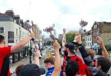 Judas F.C's bus parade | Football News UK