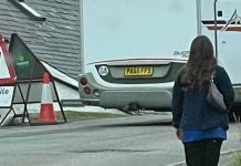 The campervan with the funny license plate | Scottish News