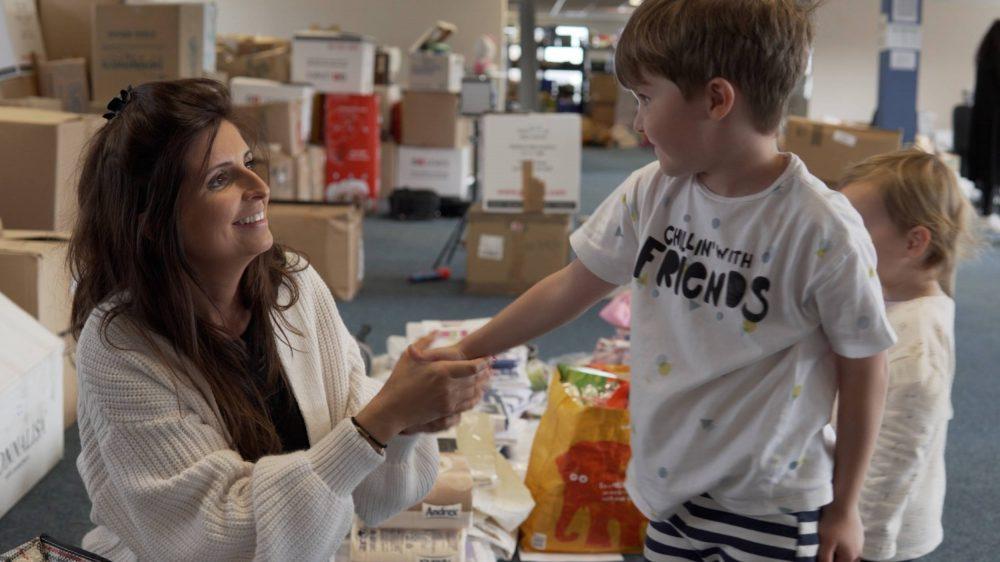 Danielle with son Freddie | Scottish Charity News