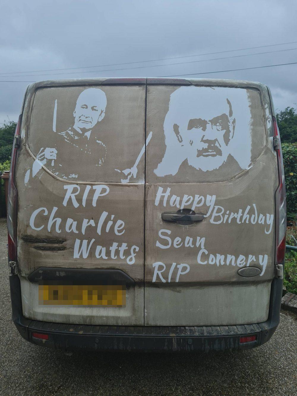 Ruddy Muddy tribute to Charlie Watts   Art News UK