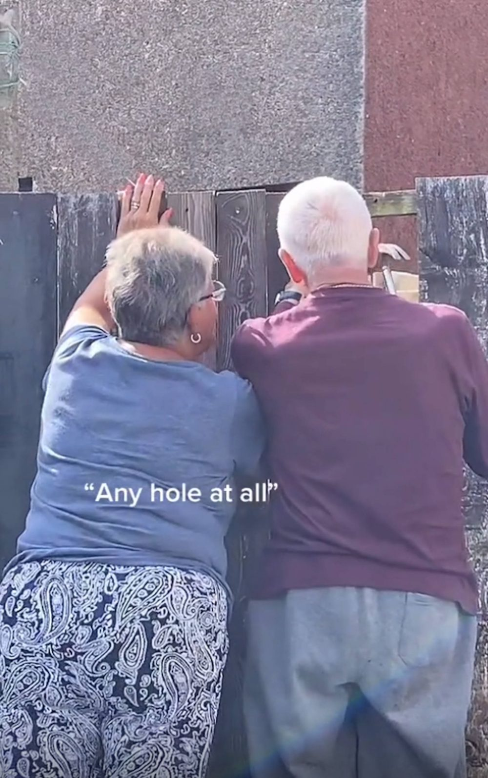The cheeky pensioners | Viral News Scotland