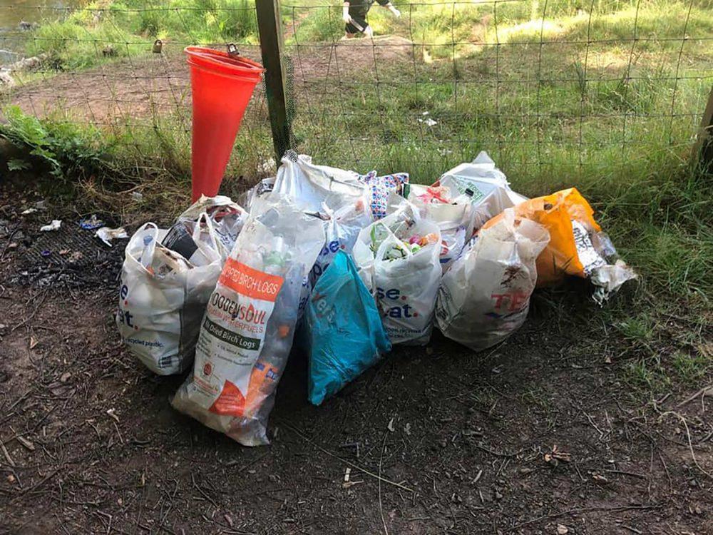 The 20 binbags of trash - Scottish Nature News