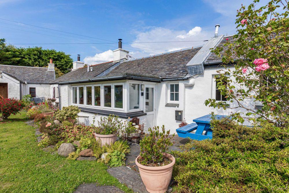 Rustic cottage exterior - Scottish News