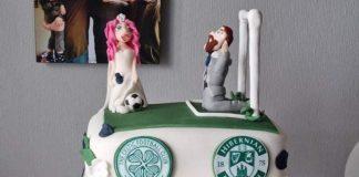 The three-tier footie cake - Scottish Football News