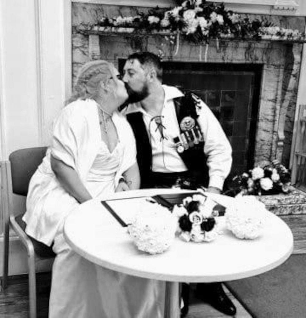 The beautiful couple = Scottish Football News