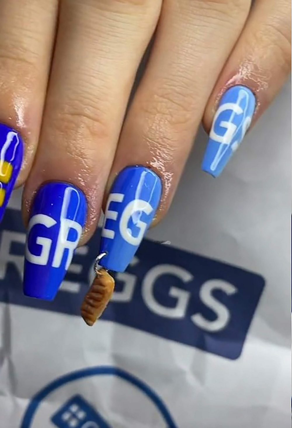 The quirky Greggs nails - UK News