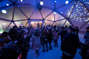 Snow globe - Scottish news