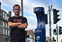 Scottish Water Top Up Tap Challenge, Your Water Your Life, Race Fitness Head Coach Kieron Ross