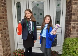 Olivia and Anna Boyce, Scottish Water, Your Water Your Life, Pupils urged to tap into Scotland's greatest natural asset