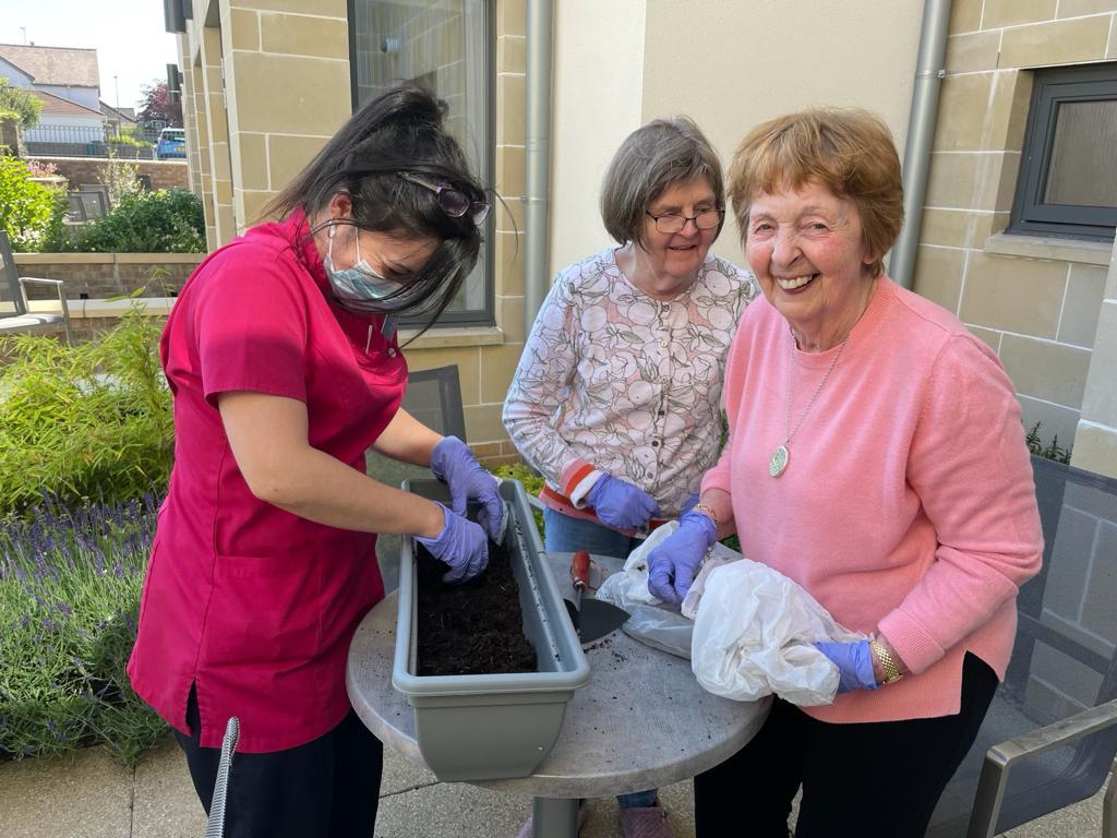 Social Care, Cramond residence gardening project