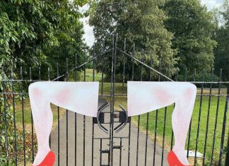 The controversial art work - Scottish News