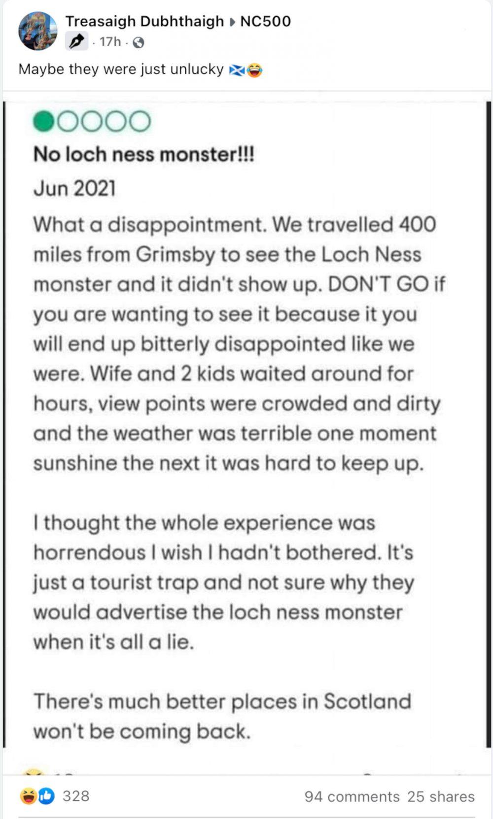 Nessie review - Scottish News