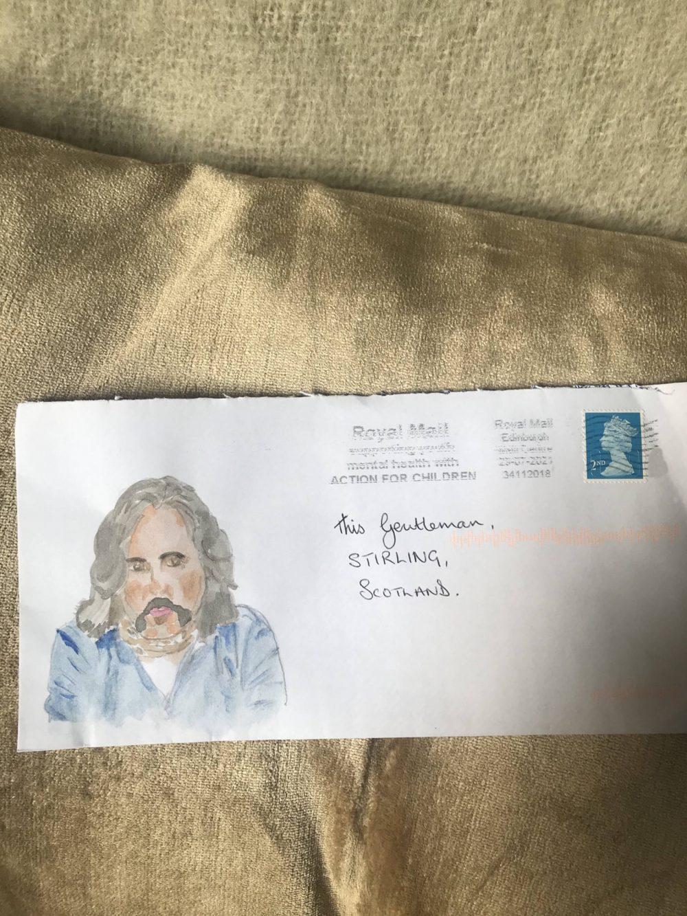 Neil Oliver painted letter | Scottish News