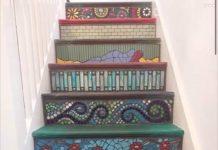 mosaic staircase - DIY News