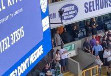 Footie fans arguing - Football News UK