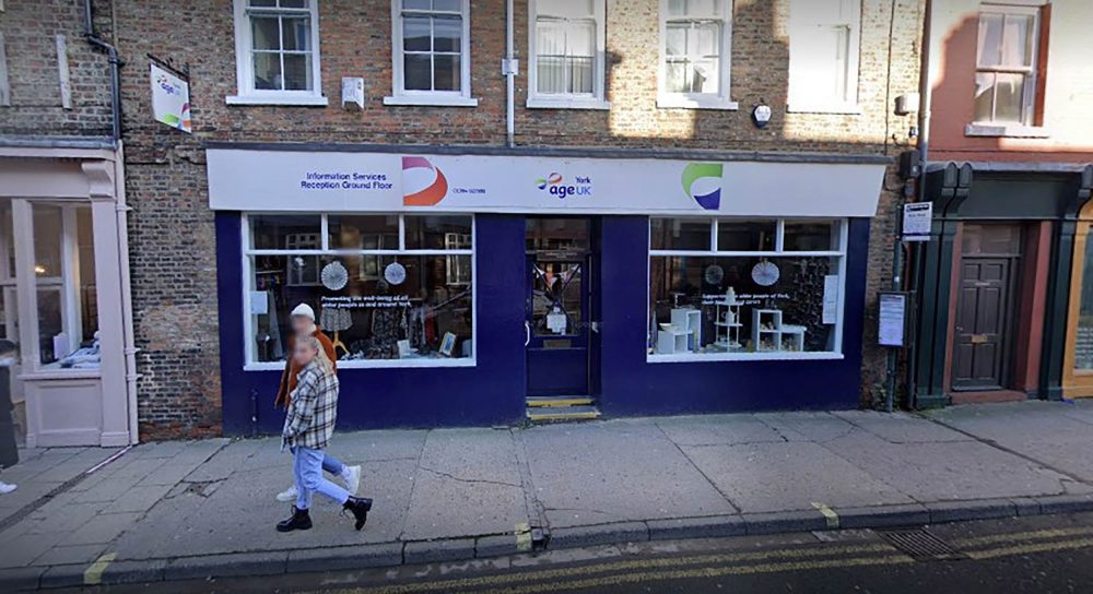 The charity shop in York - UK News