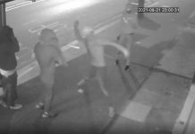Thug throws stone at salon window   Crime News UK