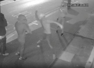 Thug throws stone at salon window | Crime News UK