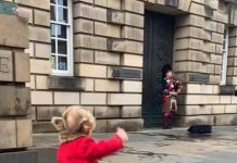 Sally and the busker - Scottish News