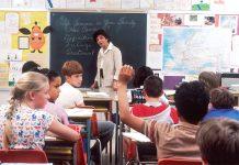teacher in classroom - education news scotland